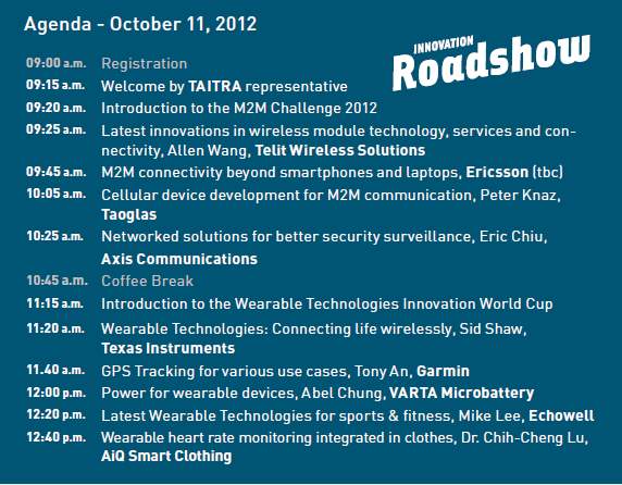 AgendaTaipei2012