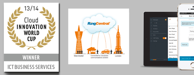 RingCentral cloud phone system - Innovation World Cup Series