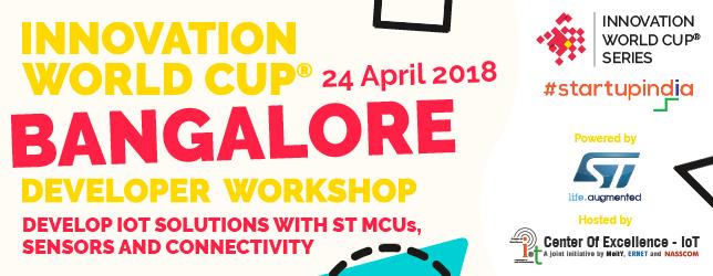 STMicroelectronics developer workshop_Bangalore 24 April 2018