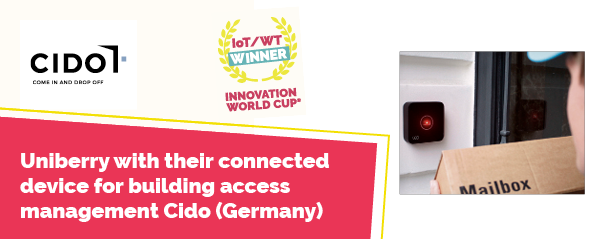 CIDO in the 10th Innovation World Cup® adn Gemalto Trusted Connectivity Award