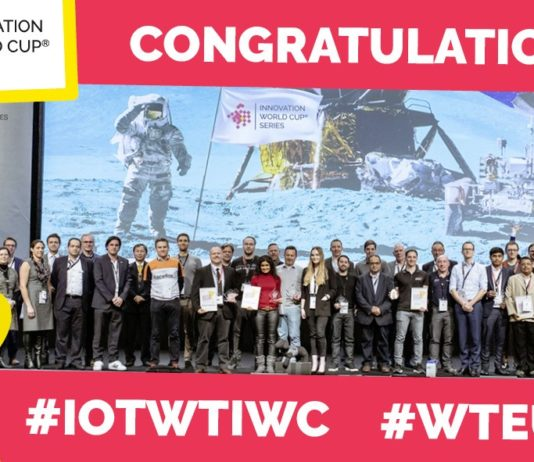 10th IOT WT Innovation World Cup winners awarded at WTEU19 ISPO 2019 Munich