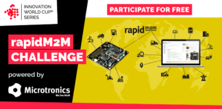 rapidM2M Challenge by Microtronics on 11th IOT/WT Innovation World Cup