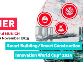SMART BUILDING SMART CONSTRUCTION INNOVATION WORLD CUP 2019 AWARD