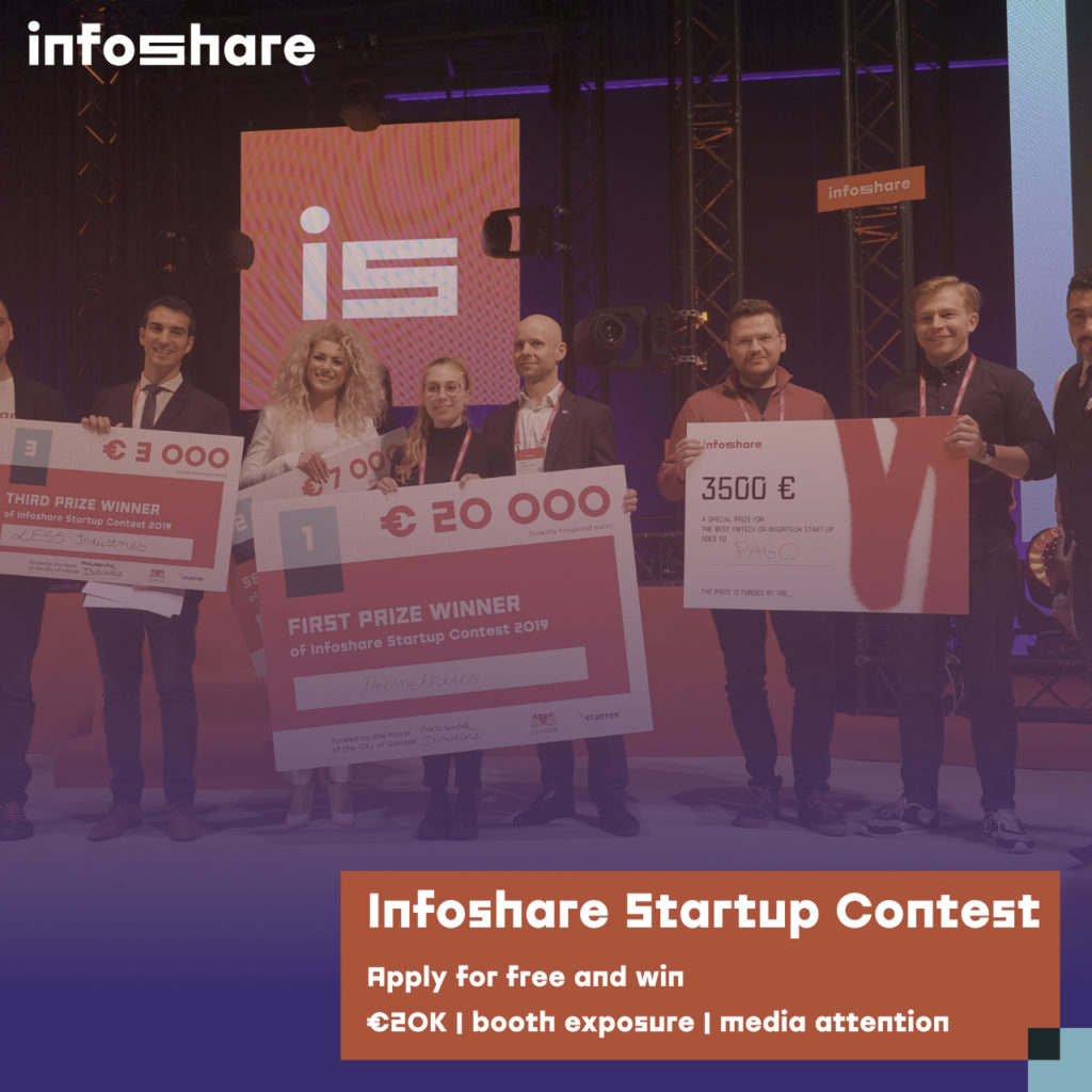 Start-up Contest Infoshare Innovation World Cup