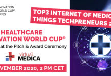 TOP3 Internet of Medical Things Techpreneurs 2020