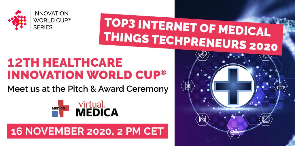 TOP3 Internet of Medical Things Techpreneurs 2020