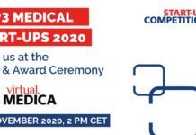 9th MEDICA Start-up COMPETITION TOP3 Medical Start-ups 2020