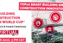 TOP10 Smart Building Smart Construction Innovators 2020 of 3rd Smart Building Smart Construction Innovation World Cup