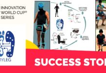 MYLEG - wearable - Healthcare Innovation World Cup