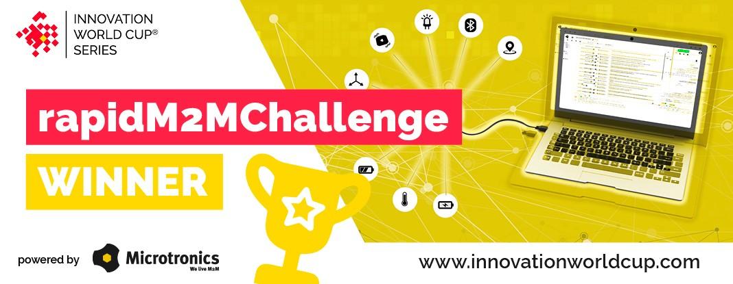 12 iotwt innovation world cup winner rapidm2m challenge 2021 by microtronics