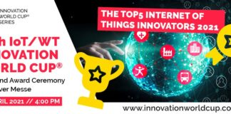 12th IOT Innovation World Cup at Hannover Messe 2021 top5 startups