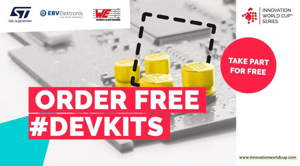 Dev Kits Innovation World Cup Series 2021 Würth EBV STMicroelectronics